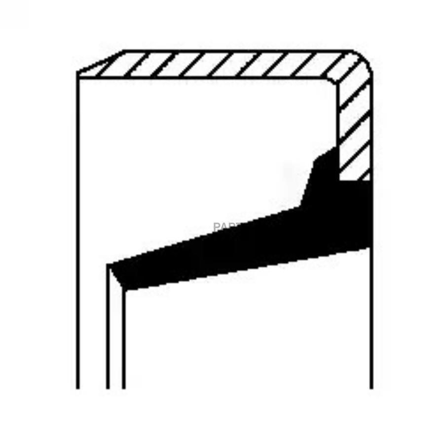 Уплотняющее кольцо, ступенчатая коробка передач; Уплотнительное кольцо вала, вал выжимного подшипника