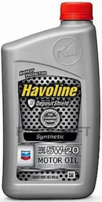 HAVOLINE PRODS SYNTHETIC M/O SAE 5W-20 0.946л.