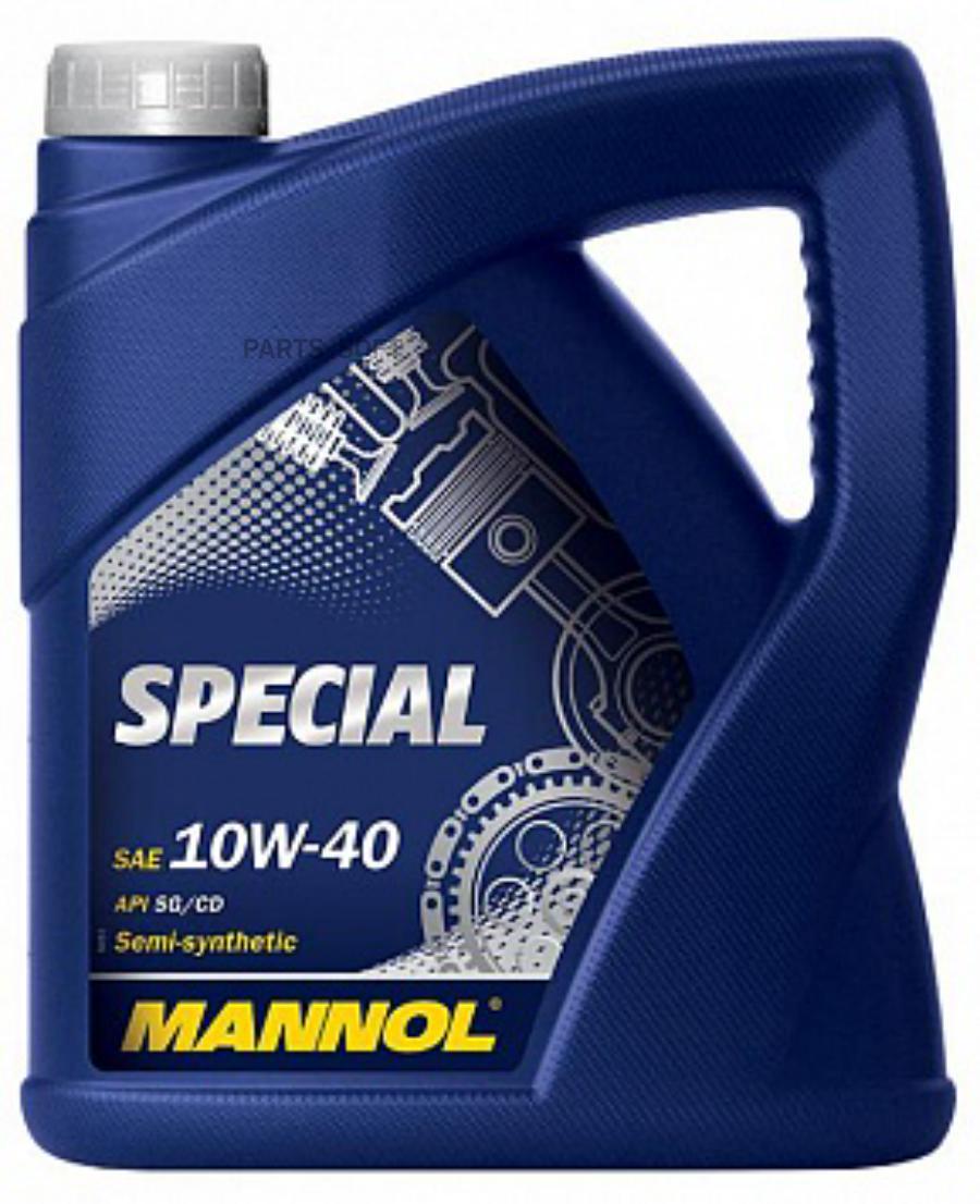 Масло моторное полусинтетическое Special 10W-40, 4л