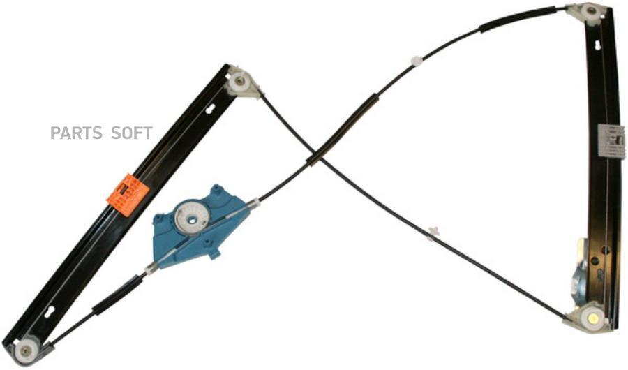 Механизм стеклоподъёмника передней левой двери без моторчика лев