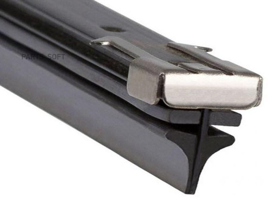 Резинки для щеток блистер 50 см 2 шт Single