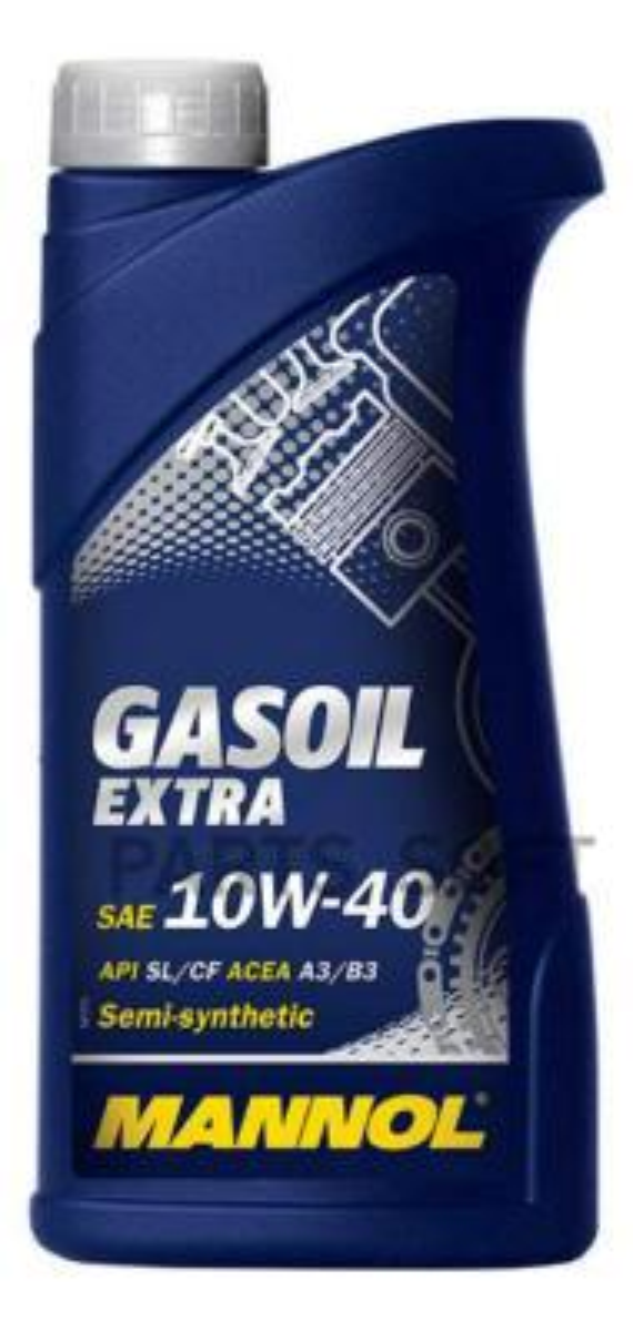 Масло моторное полусинтетическое GASOIL EXTRA 10W-40, 1л