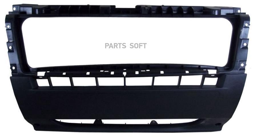 Бампер передний центральная часть, шагрень, BOXER/DUCATO/JUMPER 06-, BM