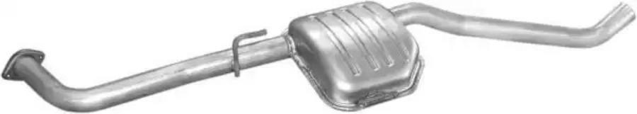 Средний глушитель выхлопных газов