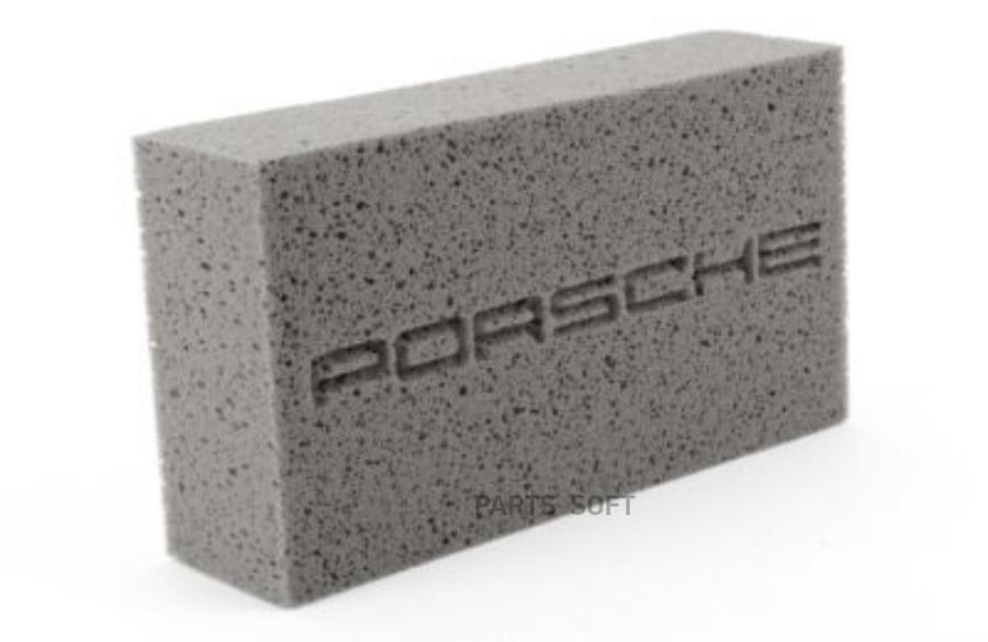 Губка для ухода за автомобилем Porsche Tequimpment Scripted Car Wash Sponge