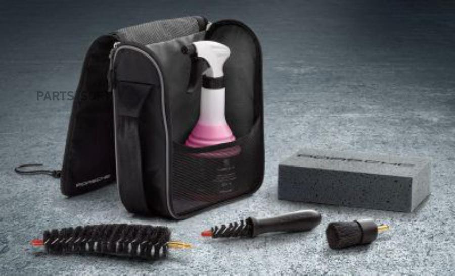 Набор для чистки легкосплавных колесных дисков Porsche Tequipment Rim Cleaner Set