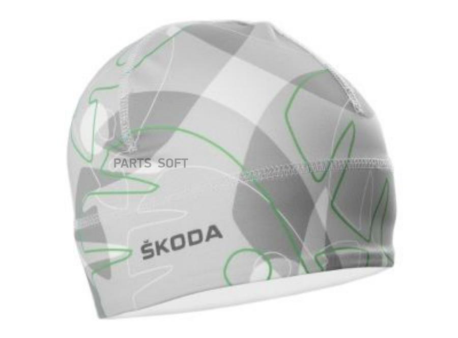 Тонкая спортивная шапка Skoda Thin Sport Cap