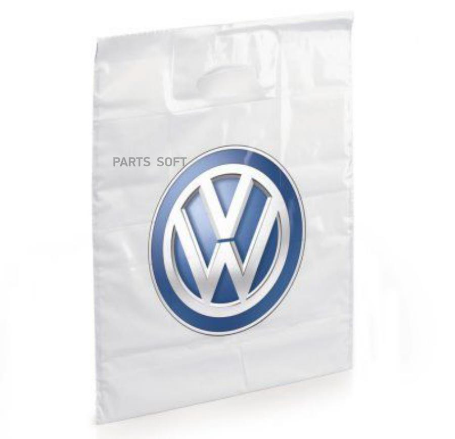 Полиэтиленовый пакет Volkswagen Logo Plastic Bag White