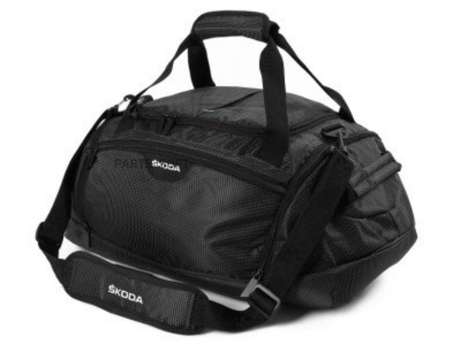 Спортивная сумка Skoda Small Sport Bag Black