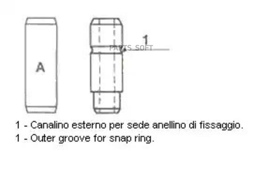 Направляющая клапана Мерседес Mercedes 615 выпуск  (50110G)