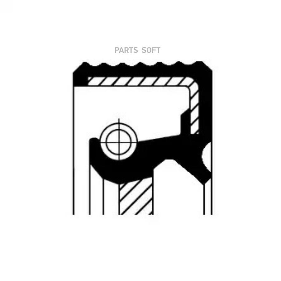 Сальник  26,8х9,2 Пежо PEUGEOT Boxer06-> перв. вала КПП