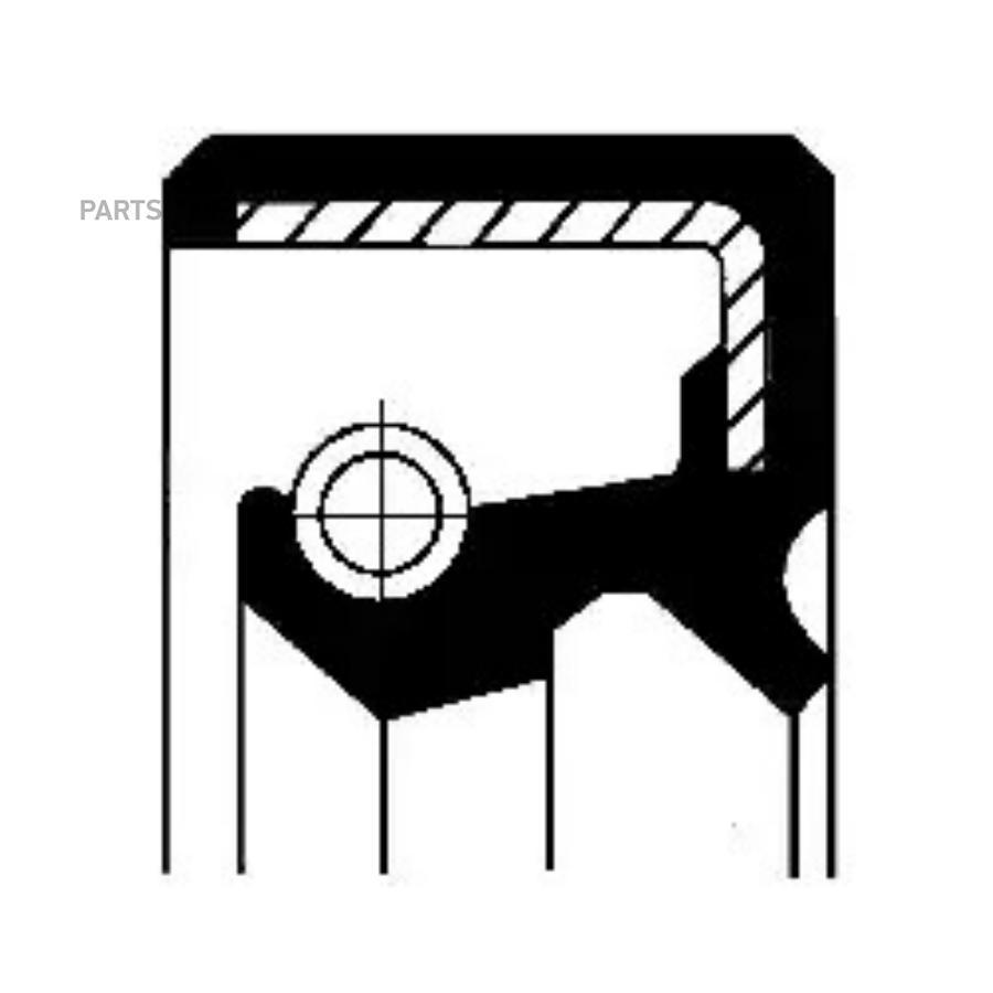 Уплотняющее кольцо, ступенчатая коробка передач; Уплотняющее кольцо вала, привод спидометра
