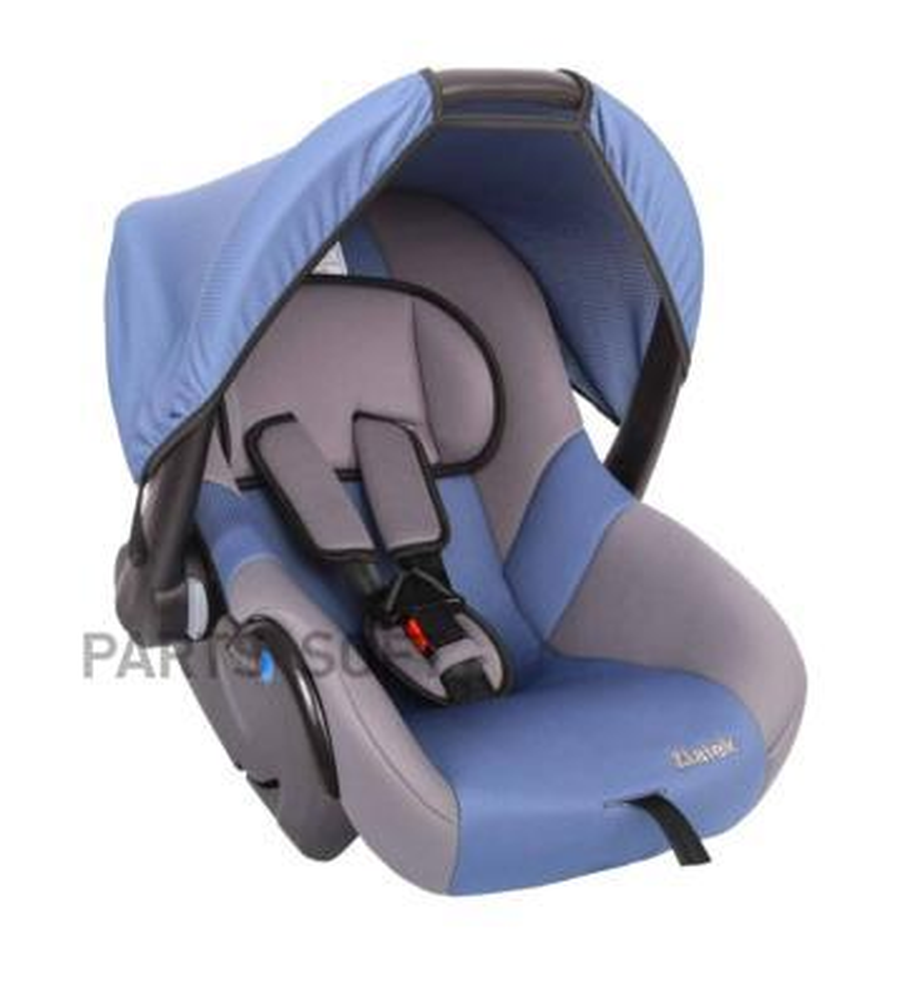 """Удерживающее устройство для детей  ZLATEK """"Colibri"""" синий, гр. 0+, 0-13 кг, 0-1,5 лет"""