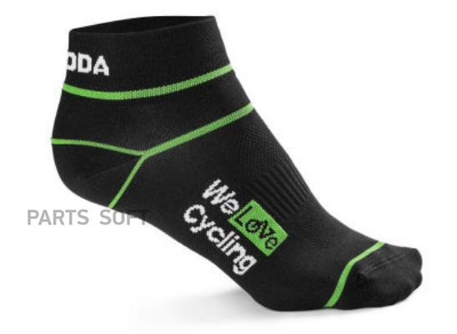 Носки унисекс Skoda Sport Socks We Love Cycling Black