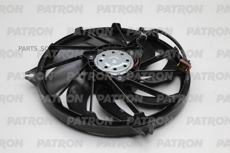 Вентилятор радиатора PEUGEOT 206 1.9D, 2.0GTI, 1.1i, 1.6i (8V&16V) ,1.4HDi