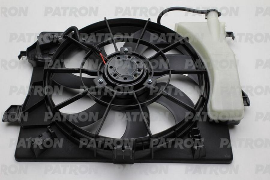 Вентилятор охлаждения двигателя HYUNDAI Solaris/KIA Rio III (в сборе) (11-14)