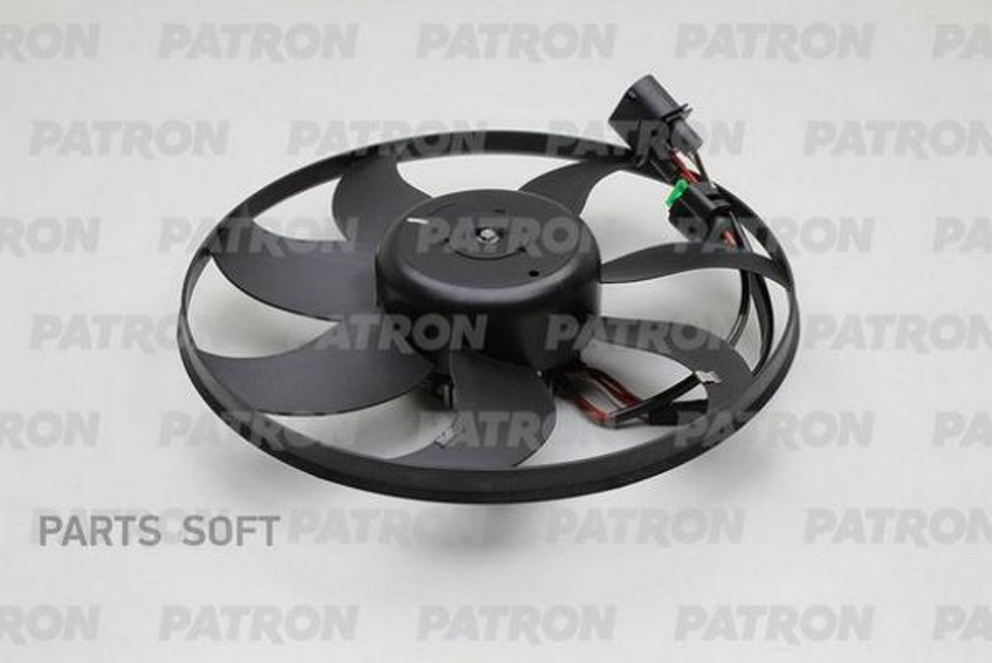 Вентилятор радиатора AUDI A3 2003-...SEAT ALTEA /TOLEDO III 2004-...SKODA FABIA 2006-...VW CADDY II