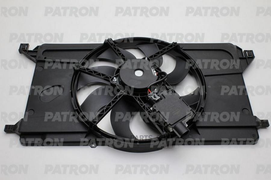 Вентилятор радиатора FORD Focus 1.6 2009- with resistor+air