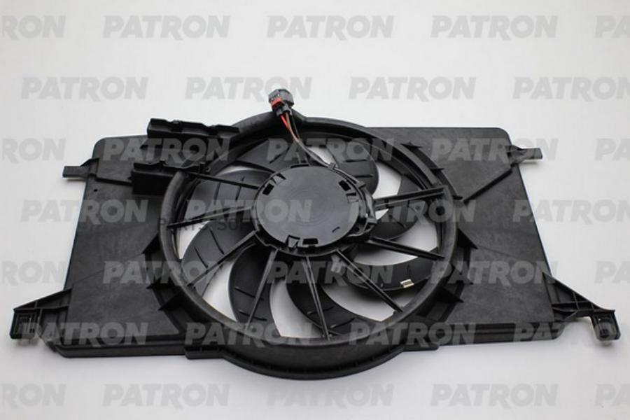 Вентилятор радиатора Ford Focus III Gazoline