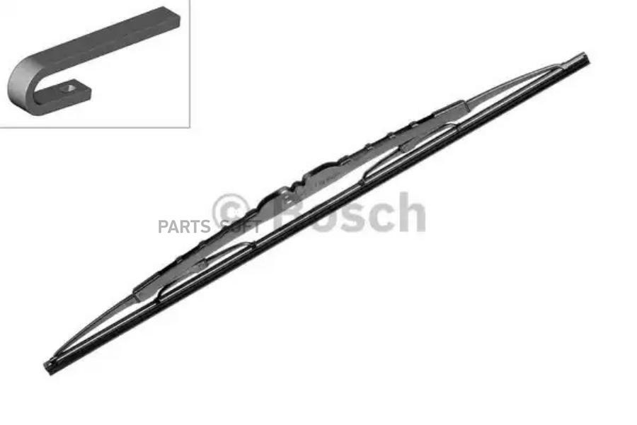 Щетка стеклоочистителя бескаркасная 510mm(а7,4), Pilenga