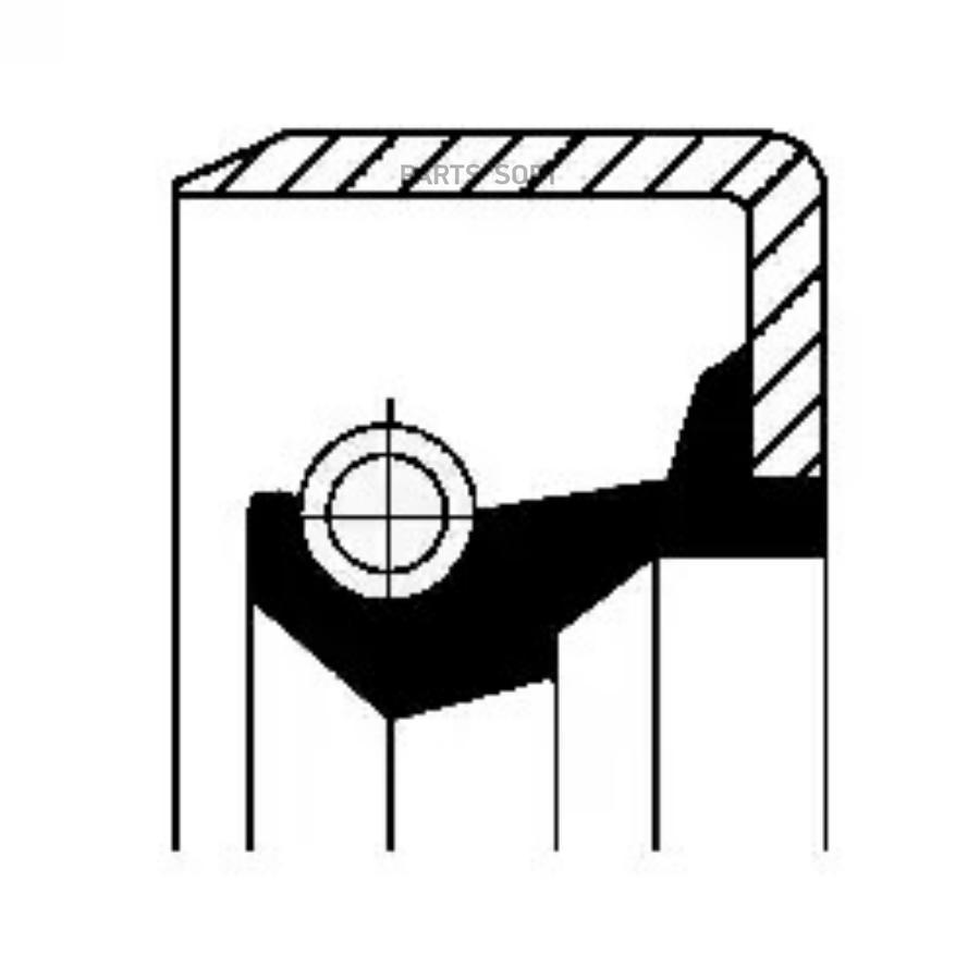 Уплотняющее кольцо вала, рулевой механизм