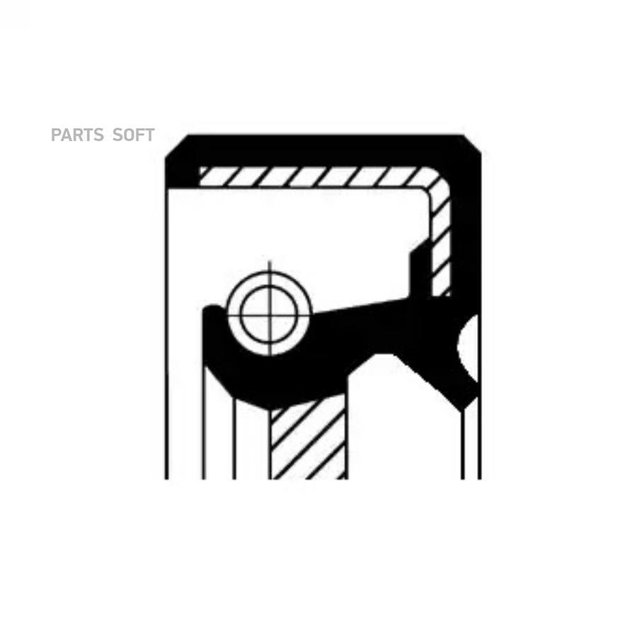 Уплотняющее кольцо, коленчатый вал; Уплотняющее кольцо вала, автоматическая коробка передач