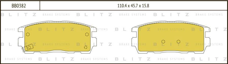 Колодки тормозные дисковые OPEL Antara 06->CHEVROLET Captiva 06->