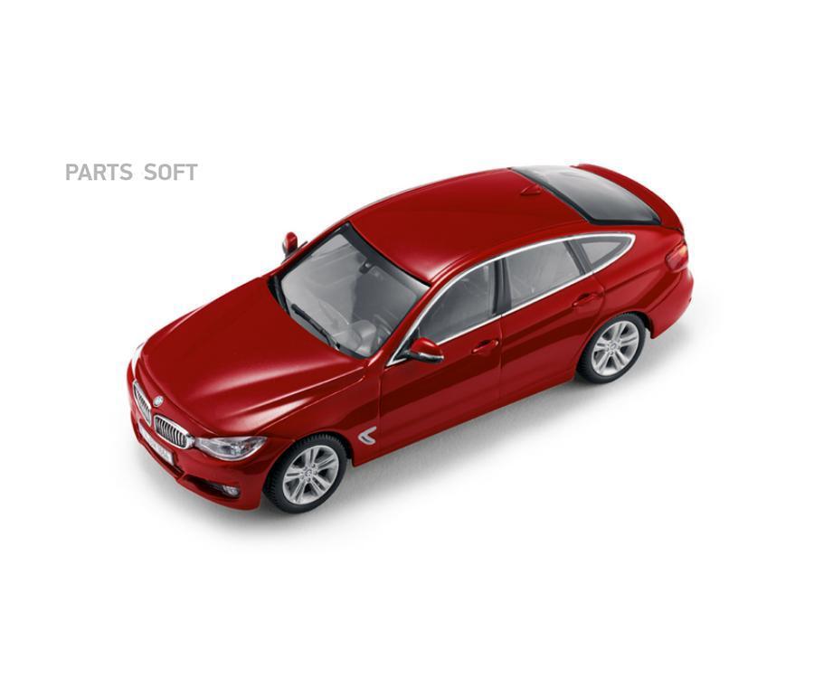 Модель автомобиля BMW 3er GT (F34) Melbourne Red Scale 1:43