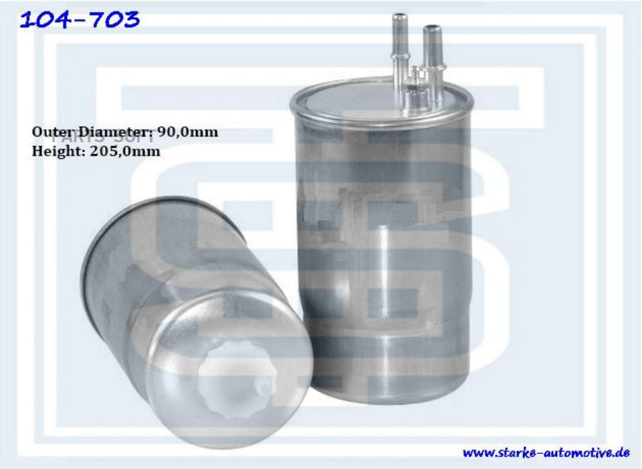 Фильтр топливный FIAT DUCATO