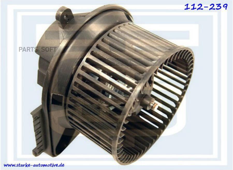 Мотор печки MER VITO (638)  --07.2003