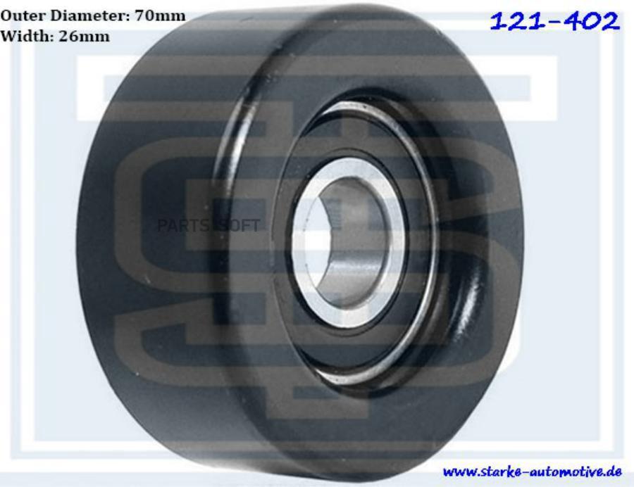 Ролик приводного ремня BMW M57