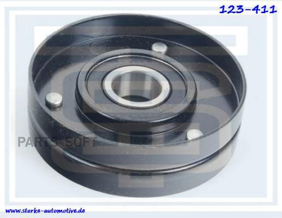 Ролик натяжной приводного ремня AUDI A6 (4F)