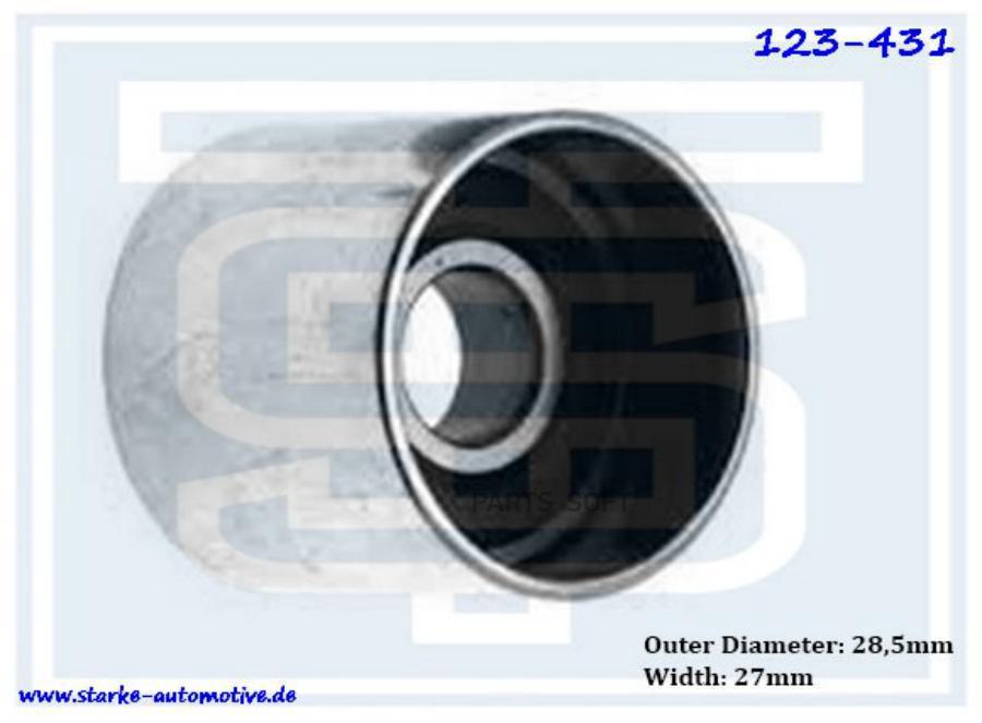 Ролик ремня ГРМ VW PASSAT (B5+)  1,8T