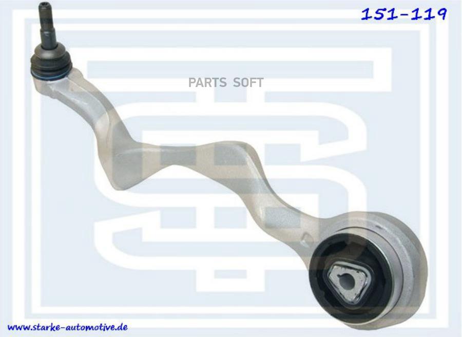 Рычаг верхний BMW E81-E88/E90-E93 L
