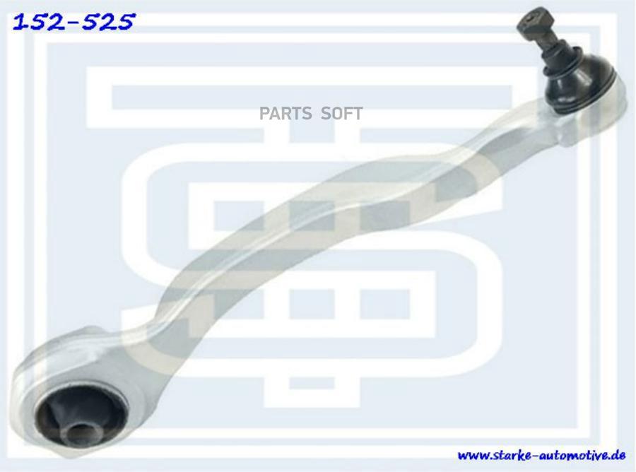 Рычаг передний нижний MER W221 L