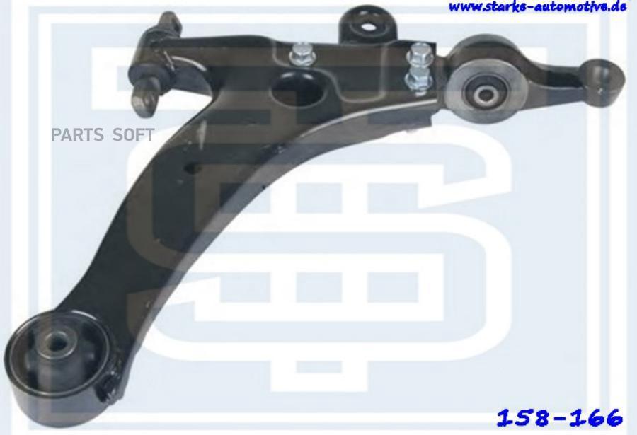 Рычаг передний нижний HYUNDAI Sonata IV (EF)  2,0 16V-2,5 V6 --10.2001  R