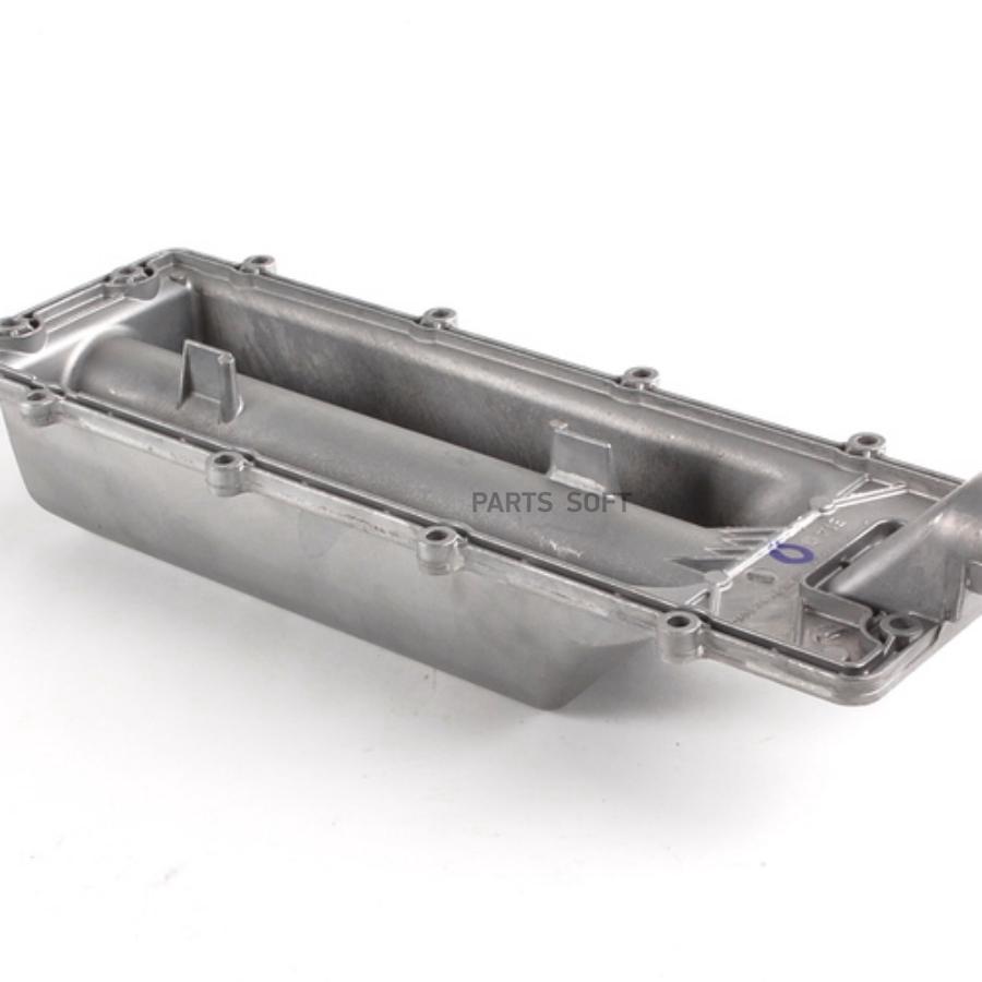 Крышка картера, блок-картер двигателя