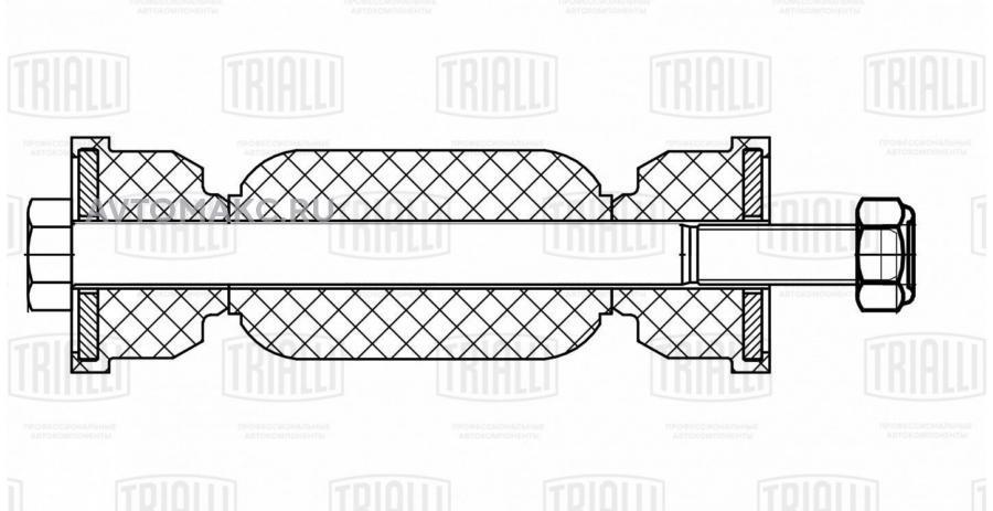 Стойка стабилизатора заднего для автомобиля Ford Focus I (98-) (SP 1012)