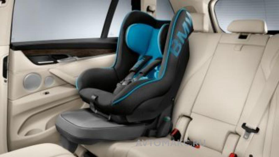 Детское автокресло BMW Junior Seat 1 Black - Blue (82222348236)
