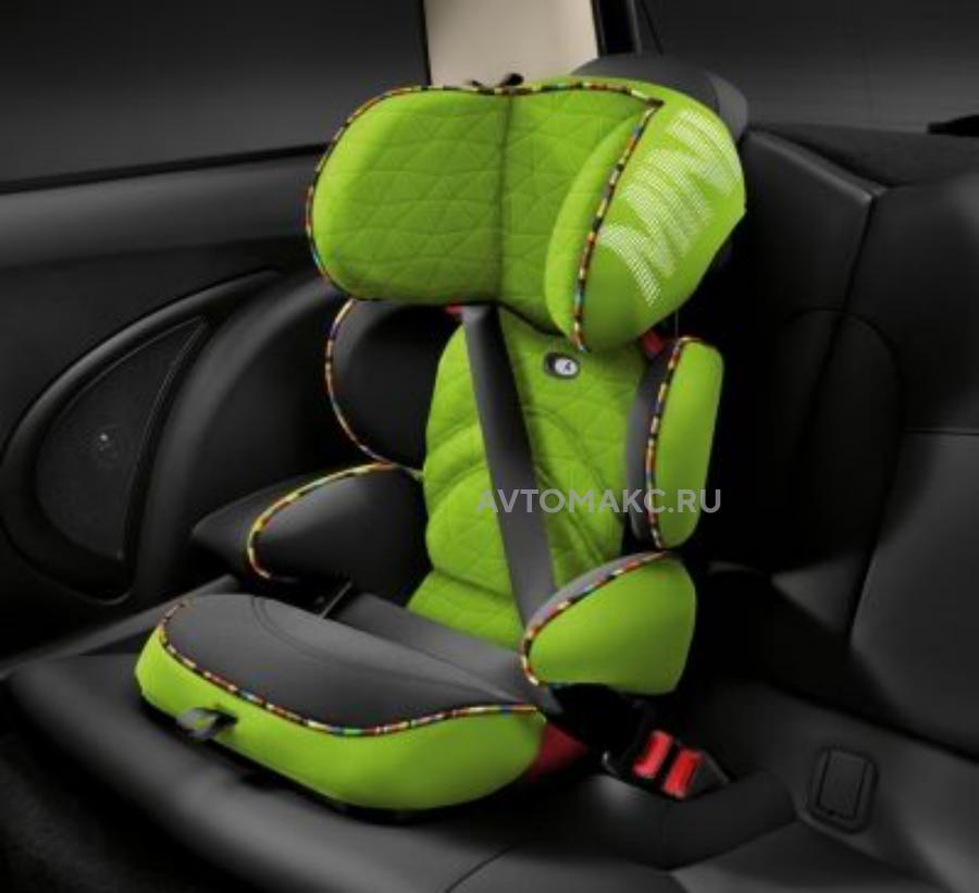 Детское автокресло Mini Junior Seat  Group 2/3 Vivid Green Print(82222348247)