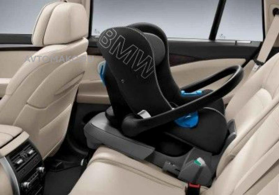 Детское автокресло BMW Baby Seat 0+ Black - Anthracite(82222348230)