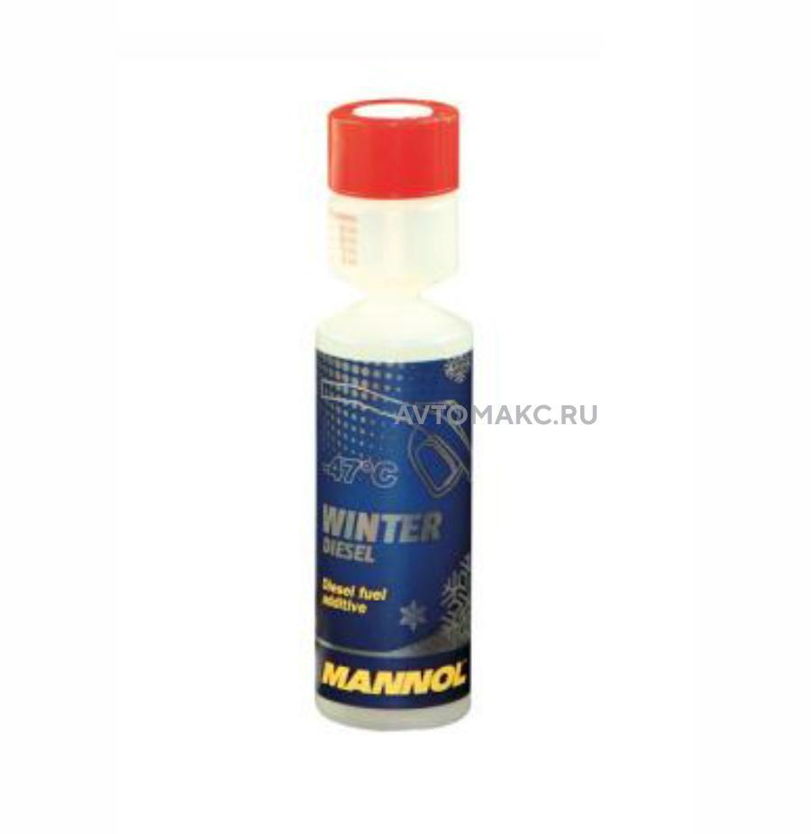 Зимний антигель дизельного топлива Mannol Winter Diesel (4036021996813)