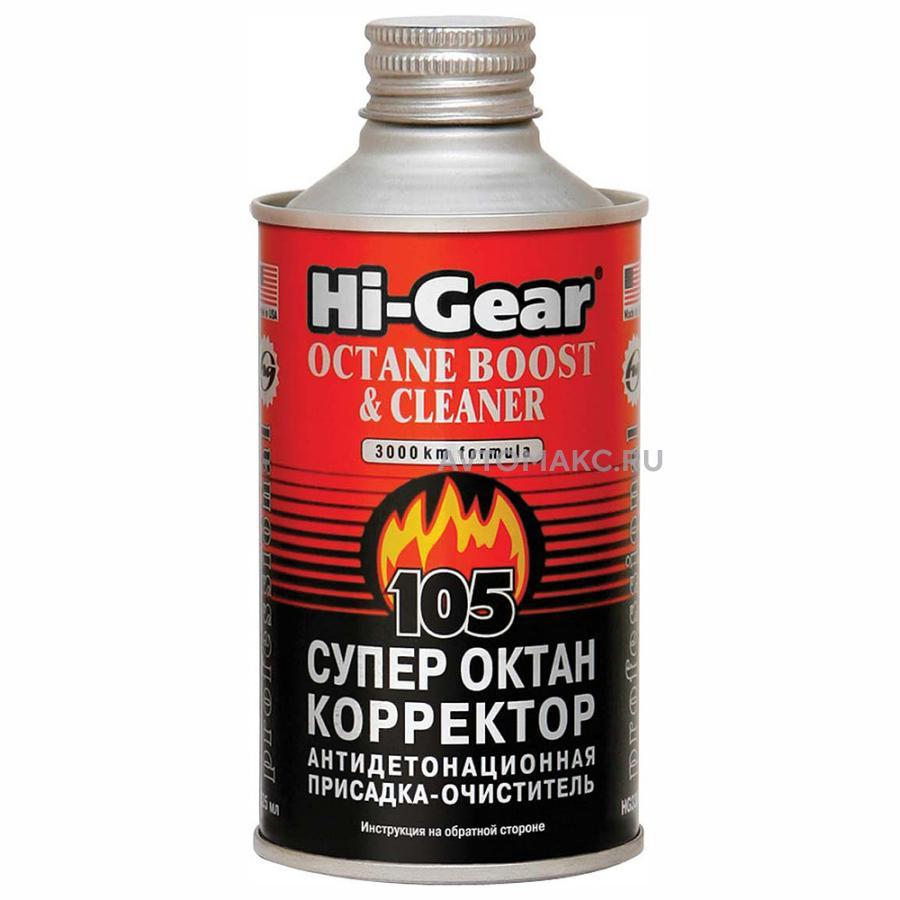 Супер-октан-корректор:улучшает свойства бензина /на 60л/ 325мл  (HG3306)