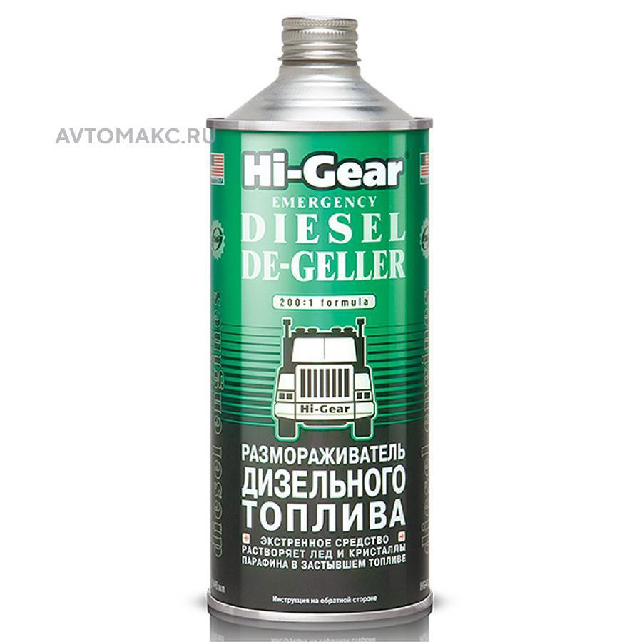 Размораживатель дизельного топлива 946мл (6шт) (HG4114)