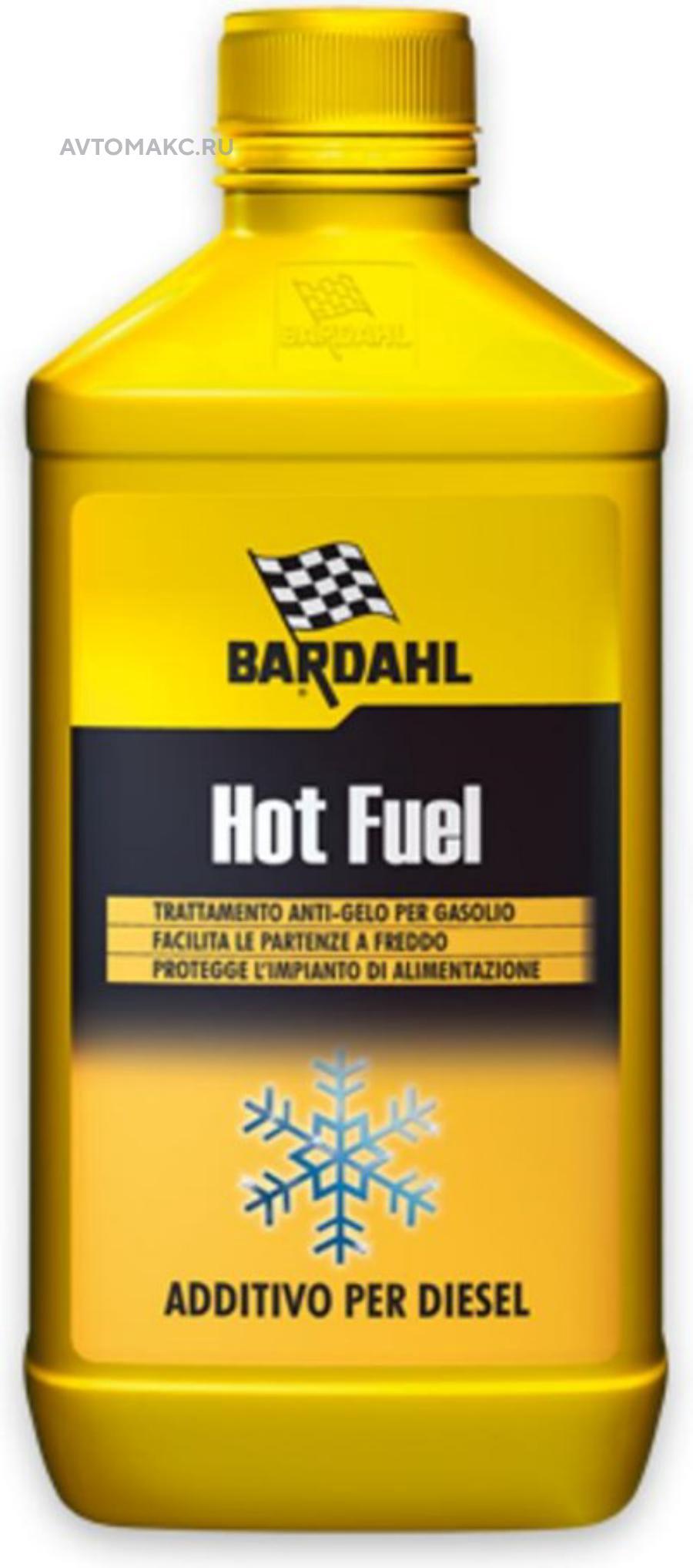 Добавка к дизельному топливу Hot Fuel, 1л. (121240)