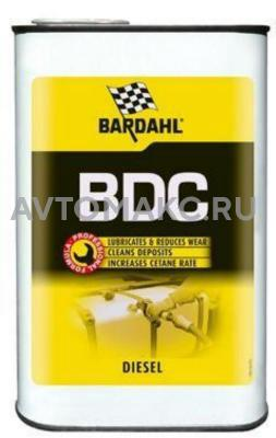 Восстанавливающая и очищающая добавка в дизельное топливо Bardahl Diesel Combustion (Bdc) 1л (1200)