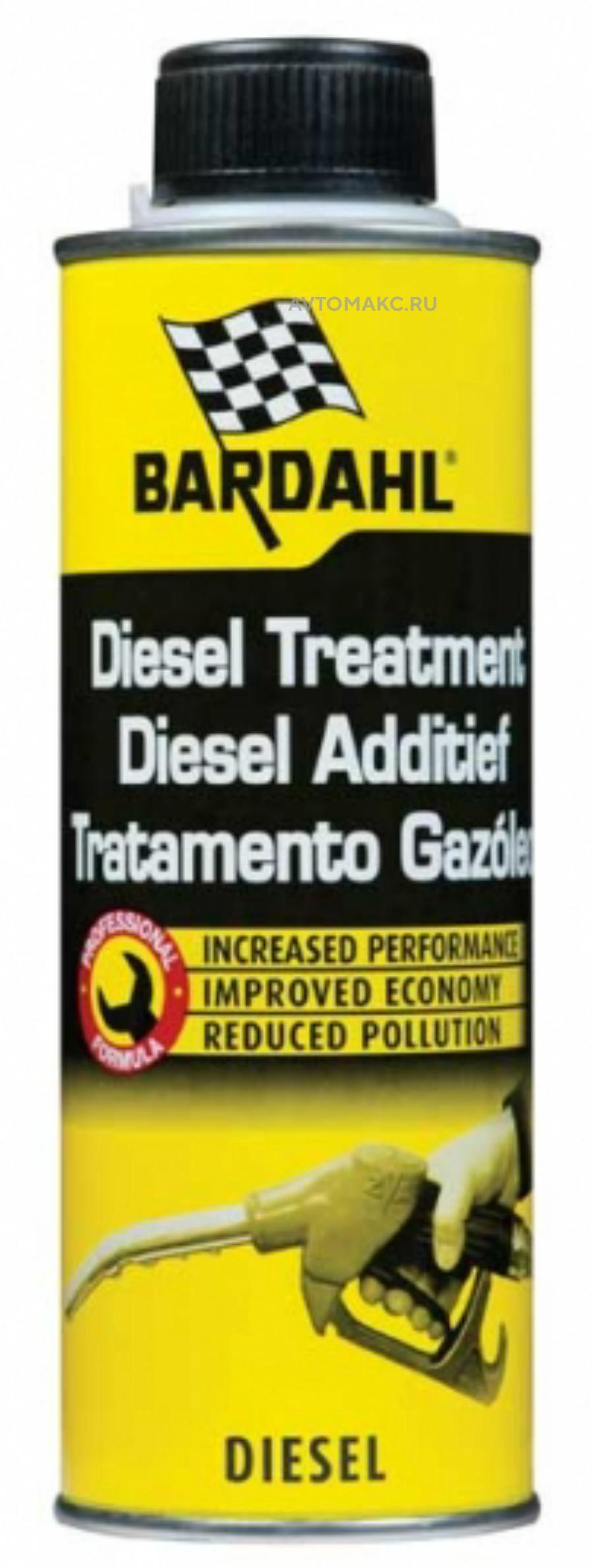 Концентрированная присадка для улучшения дизельного топлива Diesel Treatment 300 мл (13102)