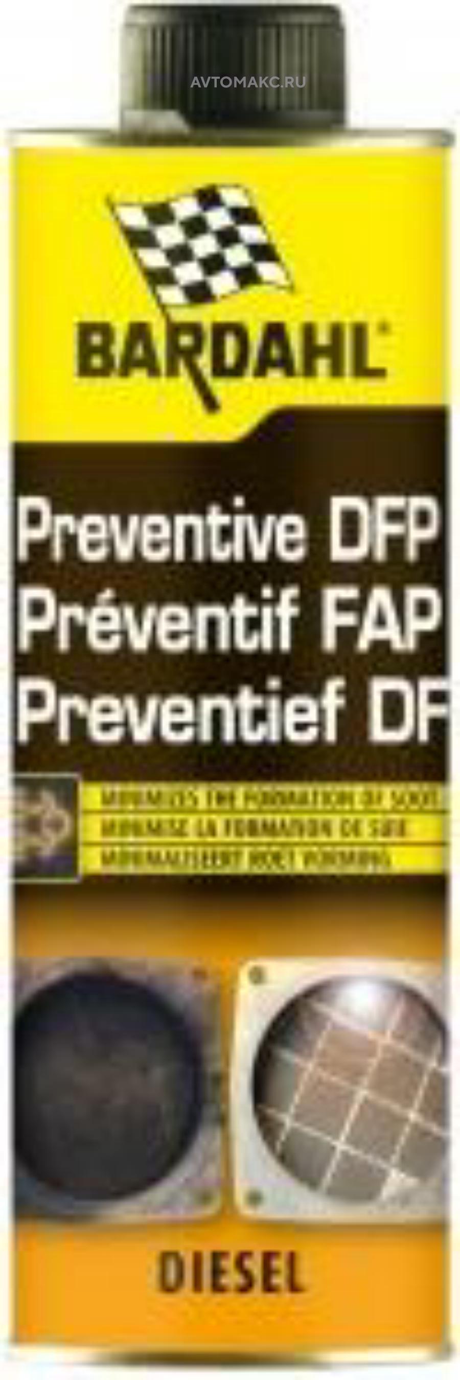 Добавка в дизельное топливо (на 15 л) Preventive Dpf Treatment 300 мл (3612)