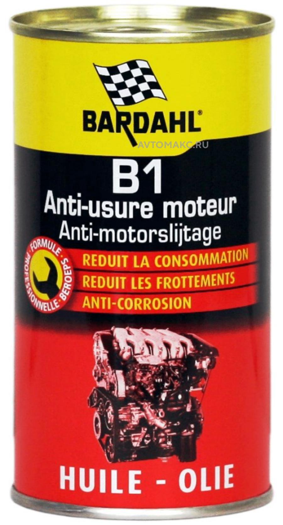 Профилактическая присадка в моторное масло B1 Oil Supplement 400мл (1205)