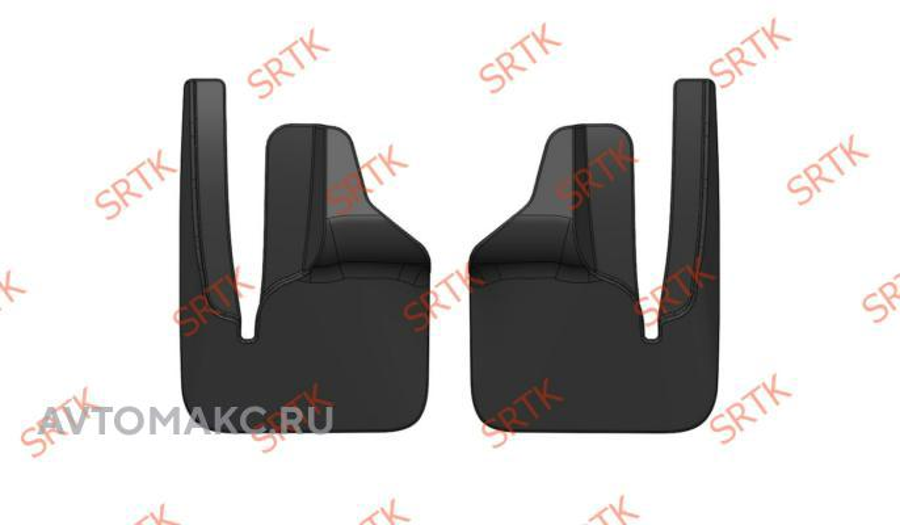 Брызговики резиновые для GAZ Gazelle Next (2013-) Передние (BRPGAZENE06015)